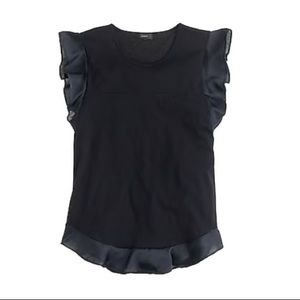 j. crew flounce thank top